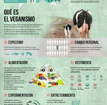 Qué es el veganismo. VeganWhat? . A Design, Br, ing, Identit, and Graphic Design project by Alberto P. Fuster         - 24.01.2016