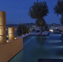 Torre del Canónigo. Um projeto de Paisagismo e Design de iluminação de Espais 3D Ibiza & Barcelona  - 21-01-2016