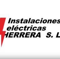 Instalaciones Eléctricas Herrera | Vídeo Promocional. Un proyecto de Vídeo de Lídia Garcia Serra         - 01.12.2014