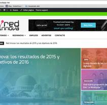 Wordpress para portal de noticias de tecnologia . Un proyecto de Diseño Web de fede_saibo - 26-01-2016