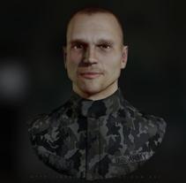 Military. WIP. Um projeto de 3D e Design de personagens de gesiOH         - 27.01.2016