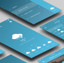 TuMeteo MAD. A Design, and UI / UX project by Patricia R         - 31.01.2016