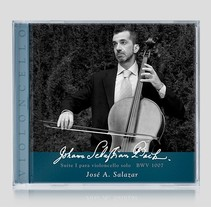 Suites I, II, III  J. S. Bach. Un proyecto de Fotografía, Br, ing e Identidad, Diseño gráfico y Packaging de Javier Leal - 31-01-2016