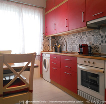 Cocina en Matogrande. Um projeto de Arquitetura de interiores e Design de interiores de UVE Laboratorio de Diseño         - 01.02.2016