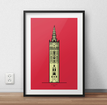 GIRALDA / SEVILLA. A Design, Illustration, Graphic Design, and Product Design project by Manuel Rodriguez  - 07-02-2016