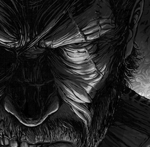Venom Snake - MetalGearSolid. A Comic, Illustration, and Painting project by Cristian Sánchez  - Sep 01 2015 12:00 AM