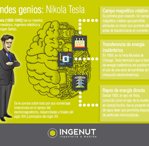 Infografías y Creatividades INGENUT . A Illustration, and Graphic Design project by Beatriz Chaves Bueno - 06-02-2016