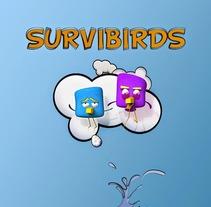 Survibirds. Un proyecto de 3D y Animación de personajes de David  Luengo Torrejón - 12-02-2016