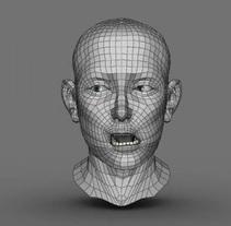 Rigging Facial. Un proyecto de 3D y Animación de David  Luengo Torrejón - 12-02-2016