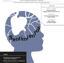 Revista Acontecimiento. Un proyecto de Diseño gráfico de Ana Cristina Martín  Alcrudo - 14-12-2015