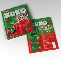 Zuko Jelly. Um projeto de Design, 3D, Br, ing e Identidade, Packaging e Design de produtos de Gabriel Delfino - 31-12-2009