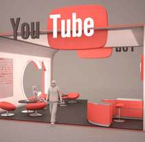 Stand Youtube. Un proyecto de 3D de Marcos Cortecero Torres         - 14.10.2015