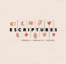 Exposició Escriptures. Museu de les Cultures del Món-. Un proyecto de Música, Audio y Sound Design de Aimar Molero - 17.02.2016