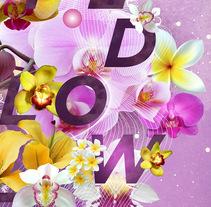 Wild Flower Poster. Un proyecto de Diseño gráfico de sergi nadal  - 21-02-2016