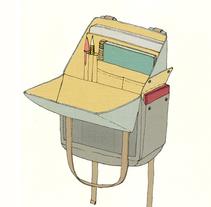 -URBAN BACKPACK-. Un proyecto de Diseño, Diseño de vestuario y Diseño de producto de Ramiro Cavil         - 28.02.2016