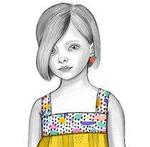 Diseño de Moda Infantil- Duduá Collection SS2017- Fashion Design. A Illustration, Costume Design, Fashion, and Graphic Design project by Carolina Oliver Gómez         - 16.08.2017