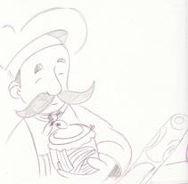 Esbozos de una proyecto de cocina. Un pequeño cuento infantil. Un proyecto de Ilustración de montse.mazorriaga         - 01.03.2016