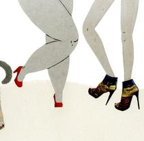 La Cenicienta. Un proyecto de Ilustración y Diseño editorial de Marina Hdez Ávila - 03-03-2016