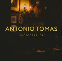 Antonio Tomas Photographer. Um projeto de Direção de arte, Br, ing e Identidade, Design editorial, Design gráfico e Web design de Jesús Román Ortega         - 02.03.2016