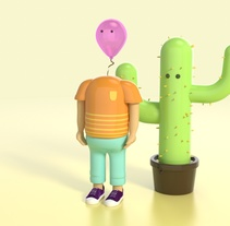 Mi Proyecto del curso: Diseño de personajes en Cinema 4D: del boceto a la impresión 3D. A Design, Illustration, and 3D project by Sergio García Arribas - 10-03-2016