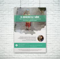 Taller teórico/práctico sobre el desarrollo del juego con Sonia Kliass, organizado por Marisa Amor. A Design, and Graphic Design project by Alfredo Moya - Mar 11 2016 12:00 AM
