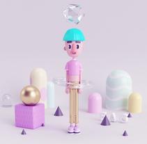 FAG Mi Proyecto del curso: Diseño de personajes en 3D. Un proyecto de Ilustración, 3D y Diseño de personajes de Zallary Cardona - 11-03-2016