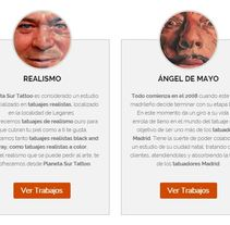 Web a medida: PLANETA SUR TATTOO. A Advertising, and Web Development project by Publicis Proximedia         - 13.03.2016