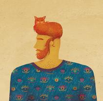 La solución del gato. Un proyecto de Ilustración, Dirección de arte y Diseño gráfico de David van der Veen - 14-03-2016