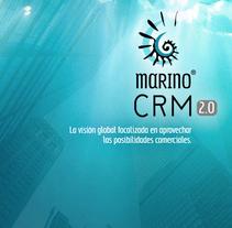 Catálogo software Marino CRM.. Un proyecto de Diseño editorial de José Manuel  Montesinos Pineda         - 15.03.2016
