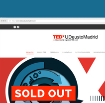 TEDxUDeustoMadrid. A Graphic Design, Web Design, and Web Development project by Tintácora Estudio Creativo  - 21-03-2016