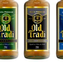 Packaging Caña OLD TRADI - A.J. Viercy, Paraguay. Un proyecto de Diseño, Ilustración, Br, ing e Identidad, Diseño gráfico y Packaging de Fernando Andrés Moya Martín         - 22.03.2016