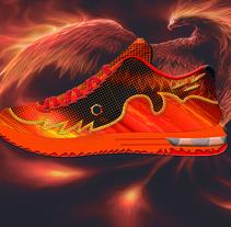 Phoenix. A Shoe Design project by Antonio Espinosa Navarro         - 25.03.2016