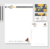 Branding, hojas de empresa y tarjeta de visita. Un proyecto de Br, ing e Identidad y Diseño gráfico de Sara Barreiro         - 26.03.2016