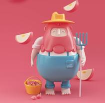 characters. Un proyecto de 3D de Juan Afanador - 27-03-2016