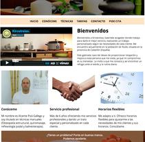 Mi Proyecto del curso: Introducción al Desarrollo Web Responsive con HTML y CSS. Um projeto de Design gráfico e Web design de Miguel Pitarch         - 28.03.2016