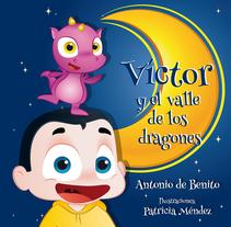 Ilustraciones y maquetación de cuento infantil . Un proyecto de Ilustración, Diseño de personajes, Diseño editorial y Diseño gráfico de Patricia Méndez         - 30.09.2015