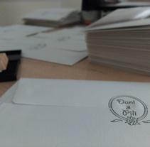 Invitaciones de Boda. A Design, Illustration, Br, ing, Identit, Design Management, Events, and Graphic Design project by UnPuntoDeVistaDiferente María Rius Sanz         - 05.04.2016