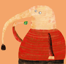 perros & mostruitos. A Illustration, Animation, and Character Design project by Salva Insa - Apr 07 2016 12:00 AM