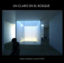 Un claro en el bosque   (2ºcurso Interiorismo gráfico). Um projeto de Design, 3D, Arquitetura, Arquitetura de interiores e Design de interiores de María Cabaleiro         - 12.04.2016