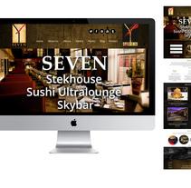 Diseño Web par restaurante. A Web Design project by Araceli Agudo García         - 12.03.2016