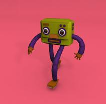 Mi Proyecto del curso: Diseño de personajes y Animación 3D. A Illustration, 3D, and Animation project by Daniel Zuga         - 14.04.2016