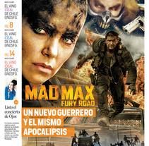 Mad Max, para periódico EL TIEMPO (Colombia). Um projeto de Design editorial de Andrés Catama         - 09.05.2015
