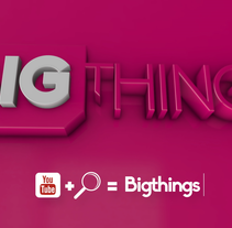 Bigthings Promo 2016 . A Motion Graphics, and Post-Production project by Pep T. Cerdá Ferrández - 19-04-2016