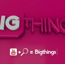 Bigthings Promo 2016 . Un proyecto de Motion Graphics y Post-producción de Pep T. Cerdá Ferrández - Miércoles, 20 de abril de 2016 00:00:00 +0200