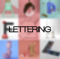 Lettering. Um projeto de 3D de Nerea Ramirez         - 20.04.2016