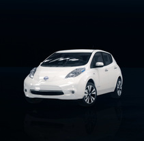 Nissan Leaf. A Motion Graphics, 3D, and Animation project by Sweat Creative Studio         - 27.11.2015