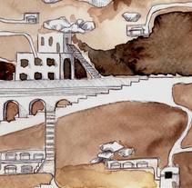 Ciudades invisibles. A Illustration project by Sara Planella i Jou         - 18.03.2014