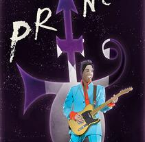 pequeño tributo a Prince. A Illustration project by Ignacio Ballesteros Díaz         - 24.04.2016