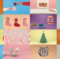 A3 Media Christmas 2012. A Motion Graphics, 3D, Animation, Art Direction, TV, and Stop Motion project by Fabio Medrano - 15-12-2013