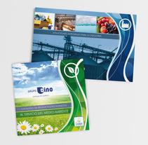 Catálogos para Grupo Dino. A Design, Editorial Design, and Graphic Design project by Disparo Estudio         - 23.04.2016